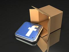 facebook v krabici